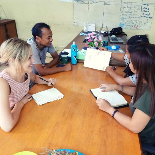 Alyssa Medway, Social Work Technical Adviser with VOICE Cambodia