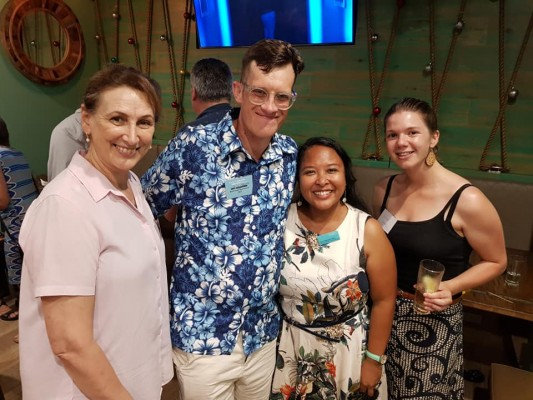 RAVN Reps Jonno and Mira with former RVN Reps Julie Wren and Lana Elliott QLD RAVN IVD 6 Dec 2020