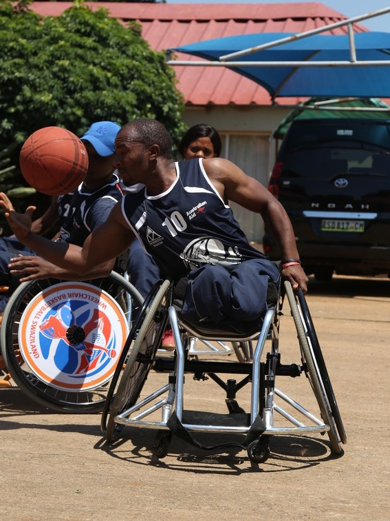eSwatini wheelchair basketball