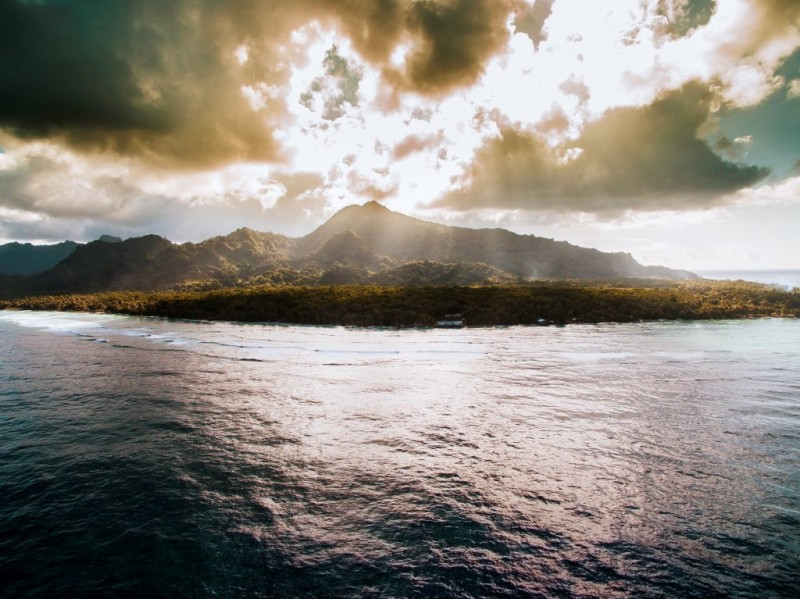 The island of Kosrae Federated States of Micronesia2