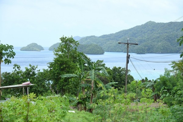 View from Koror Island Palau