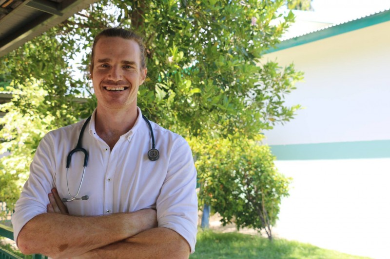 Sam Brophy Williams volunteered as a paediatric registrar at Hospital Nacional Guido Valadares